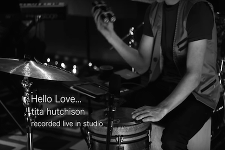 Tita Hutchison - 'Hello Love' Live In Studio